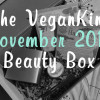 The VeganKind – November 2014 Beauty Box