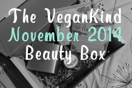 The VeganKind – November 2014 Beauty Box
