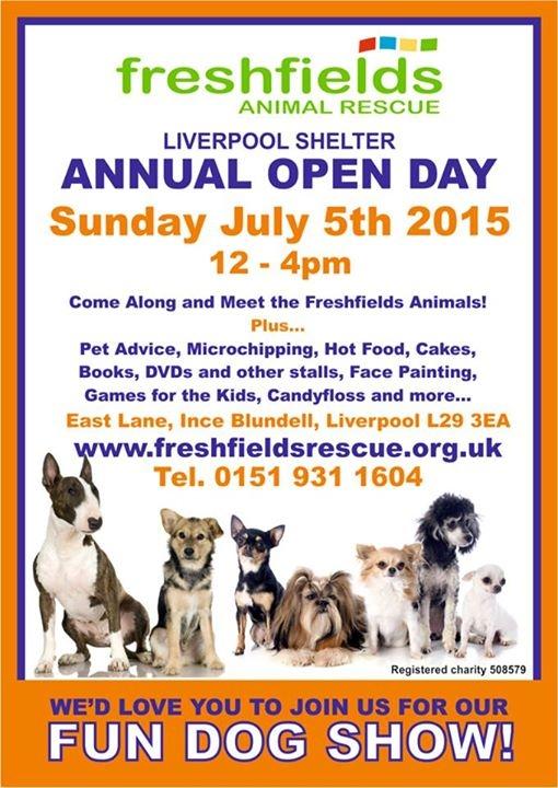 Freshfields Annual Open Day - Sun 5th July