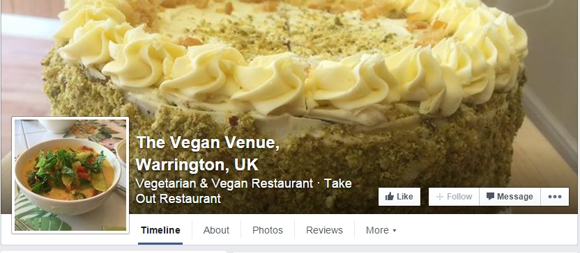 The Vegan Venue - Warrington