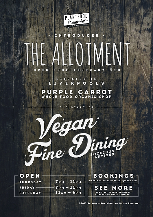 PlantFood PowerChef – The Allotment – Purple Carrot – February