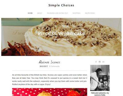 Featured ScouseVegan blogger: Piece of Vegan Cake