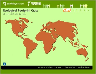Earth Day Footprint Quiz