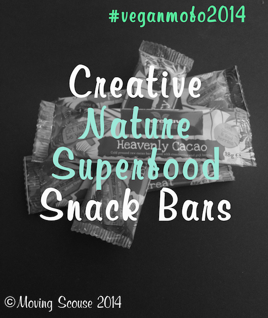Vegan MoFo | Creative Nature Superfood Snack Bars