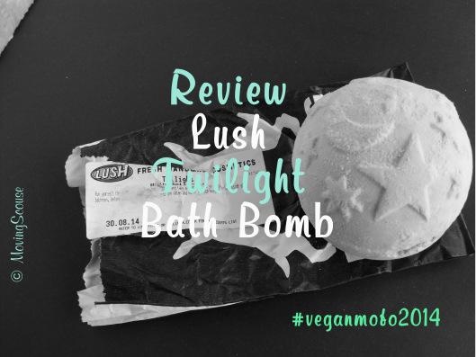Vegan MoFo 2014 | Review | Lush Twilight Bath Bomb