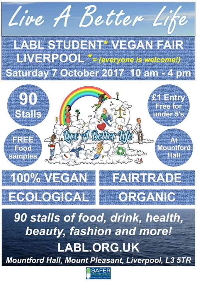 LABL Student Vegan Fair Liverpool