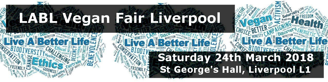 LABL Vegan Fair Liverpool - March 2018