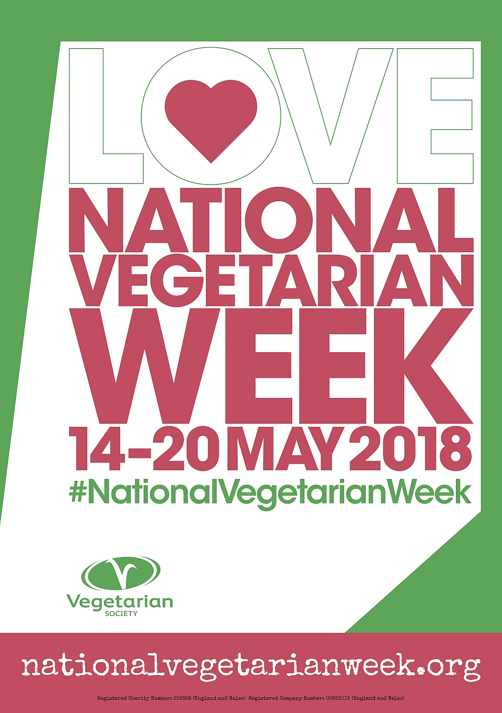 National Vegetarian Week 2018