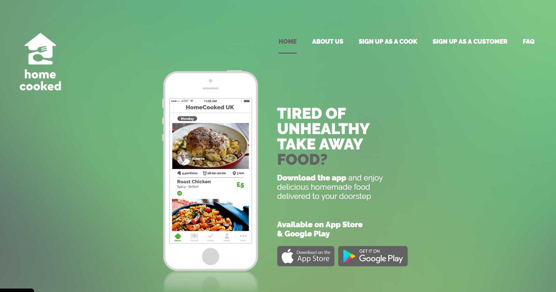 Homecooked App