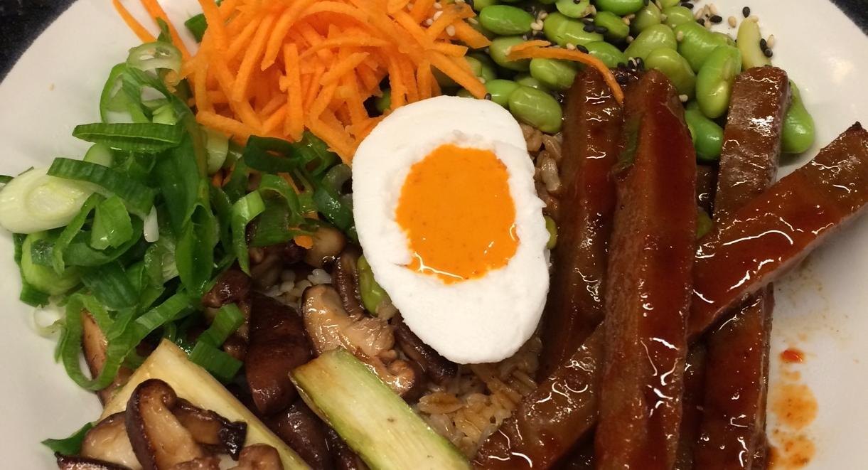 Wagamama vegan egg