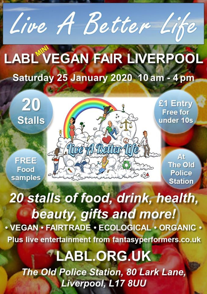 LABL Liverpool Vegan Fair
